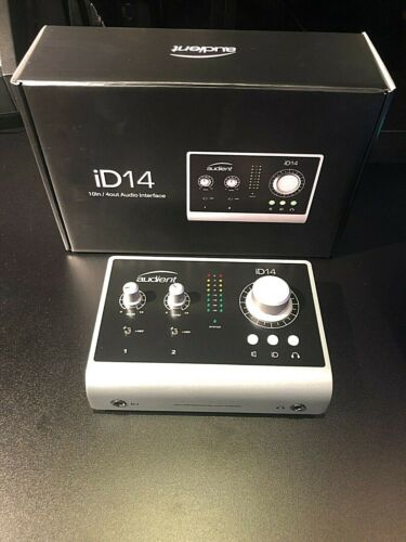 Audient ID14 USB Audio Interface - Silver