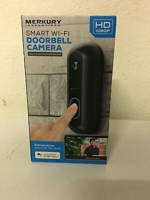 Merkury Innovations Smart Doorbell With 1080p Camera