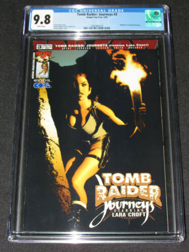 Tomb Raider: Journeys #3 (2002) CGC 9.8 Adam Hughes Cover Top Cow / Image Y829