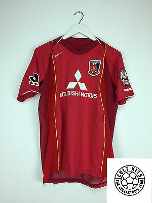 URAWA RED DIAMONDS 2004 Home Football Shirt (S) J-League Nike image