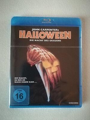John Carpenters Halloween, Blu-ray, Neu und Original verpackt!! Uncut !!