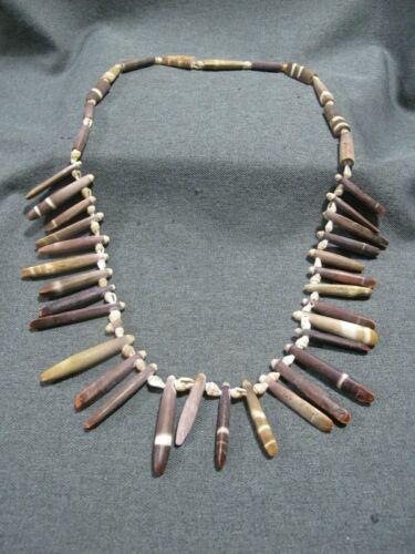 Vintage Hawaiian shells & sea urchin necklace