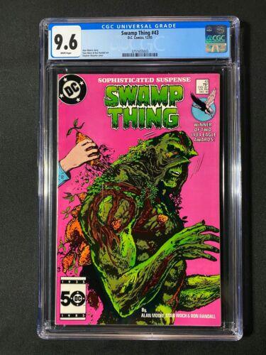 Swamp Thing #43 CGC 9.6 (1985)