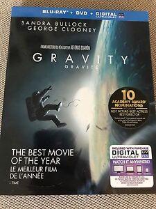 Gravity - Blu Ray + DVD + Digital copy