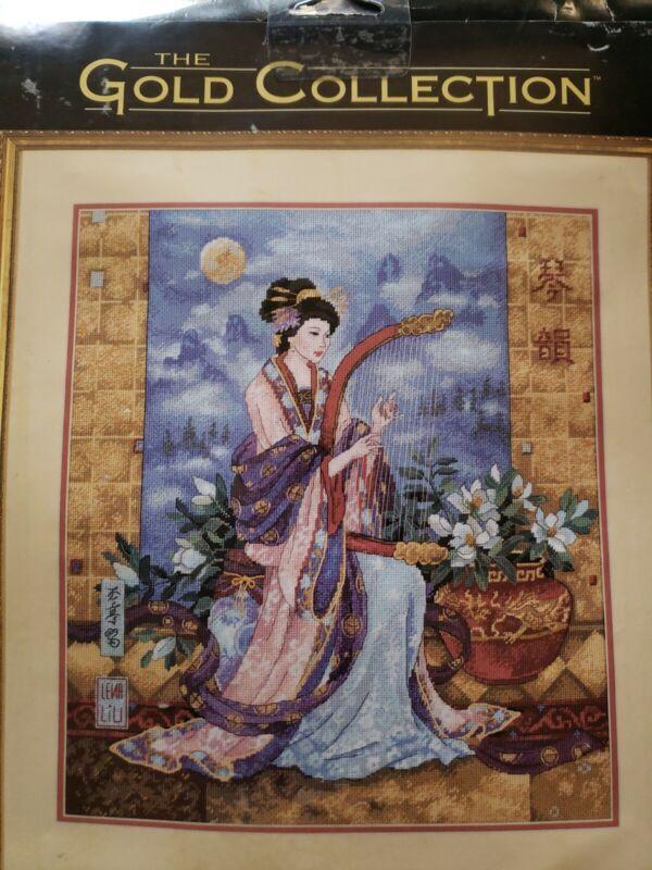 NIP Dimensions Gold Collection Magnolia Serenade Needlepoint Kit #2846 Lena Lui