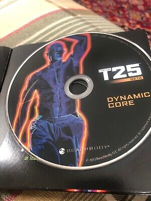 Shaun T Focus T25 Beta Dynamic Core Replacement Dvd Only By Beachbody (T25 Shaun T)