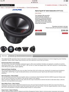 12 inch type R subwoofer