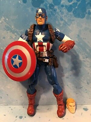 Marvel Legends CAPTAIN AMERIVA Target Exclusive Box Set LOOSE Steve Rogers Head (Steve Head)