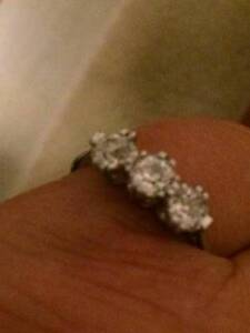 Stunning Vintage Diamond Ring Glanville Port Adelaide Area Preview