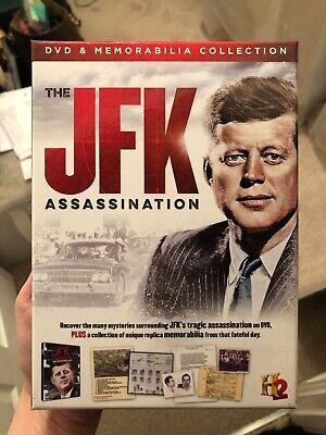 JFK Assassination DVD and Memorabilia
