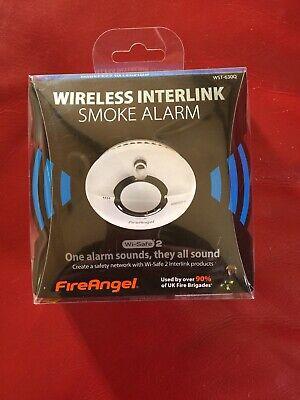 FireAngel Wireless Interlink Carbon Monoxide Alarm - W2-CO-10XQ