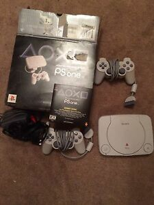 PlayStation 1 console and games