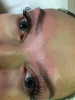 Threading facial waxing Eyelashs extensions