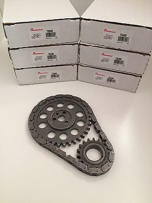 (SBC 3 Piece Timing Chain Set Small Block Chevy V8 283 305 327 350 400)