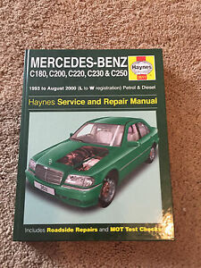 Mercedes-benz service and repair manual