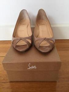 Christian Louboutin - Teresa Nude Patent Size 37 Box Hill South Whitehorse Area Preview