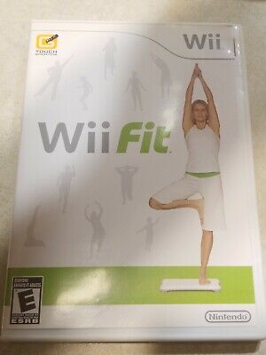 Nintendo Wii Fit Exercise Fitness Workout Cardio Yoga Video Game