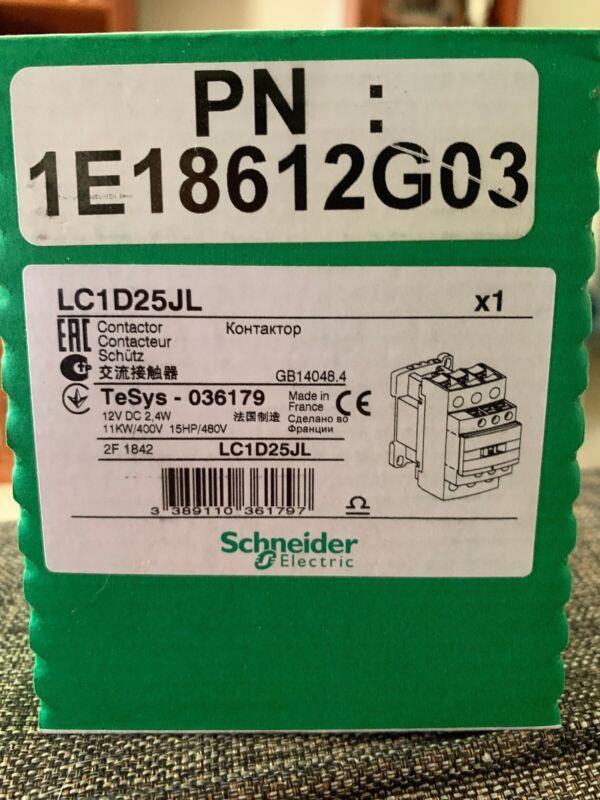 Schneider Electric Contactor LC1D25JL