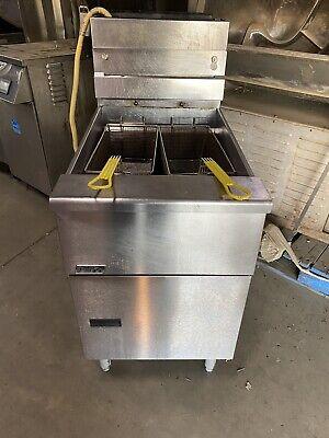 Pitco Frialator Sg18s Natural Gas Deep Fryer