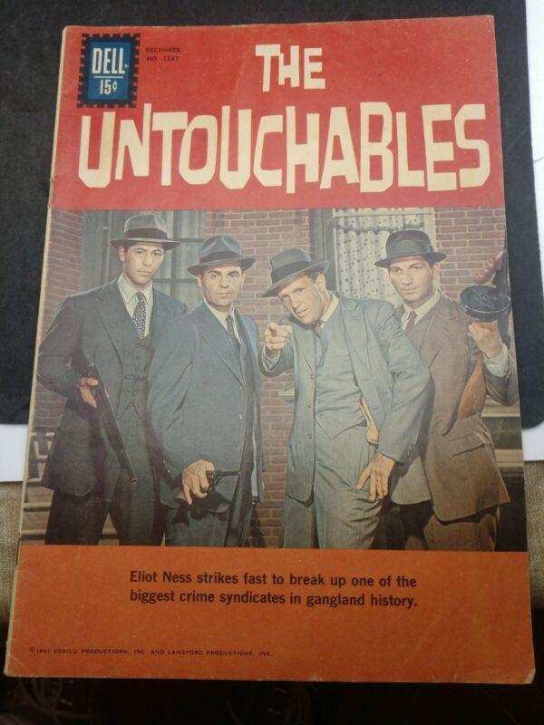 Four Color #1237 (The Untouchables #1) Nice TV Dell Comic 1961 VG/VG+