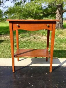 Old Small Wooden Desk