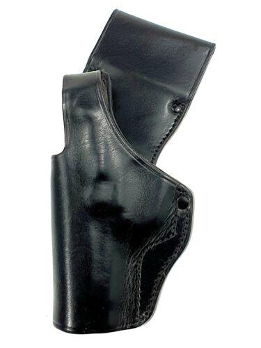 ORIGINAL BLACK LEATHER HOLSTER BELT S&W SMITH & WESSON 5904 PISTOL - LEFT HAND