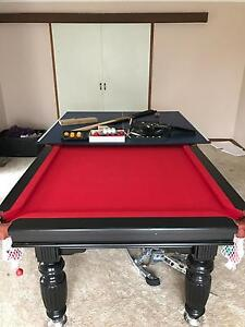Slate based 8x4 pool table Wantirna South Knox Area Preview