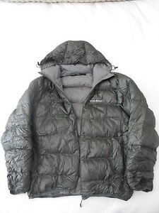 Mont Bell Womens Down Conseal Zip Jacket Very Warm
