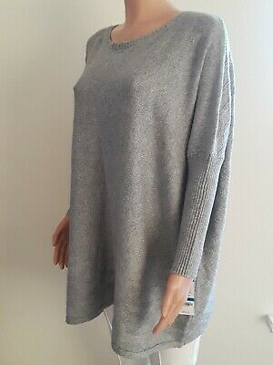 Style &Co. Sweater women . NEW. Color Grey. Knitted. Cotton/acrylic. XL, XXL S10 Acrylic Colored Sweater