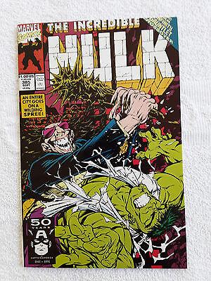 The Incredible Hulk #385 (Sep 1991, Marvel) Vol #1 VF+