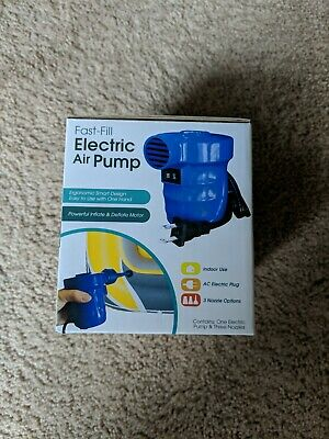 Fast Fill Electric Air Pump - Fast-Fill Electric Air Pump | Powerful Inflate & Deflate Motor | 90791 | NEW