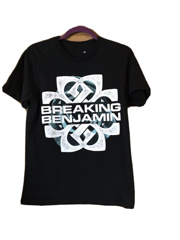 Breaking Benjamin Rock Band Logo T-shirt Unisex Adult Small