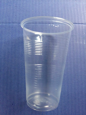 Clear Plastic Disposable Half Pint Tumbler Glasses Cups Glass Great Value Cheap! - Cheap Disposable Glasses