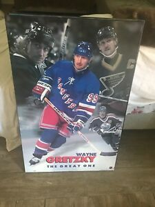 2 wood Hockey posters for sale!!!