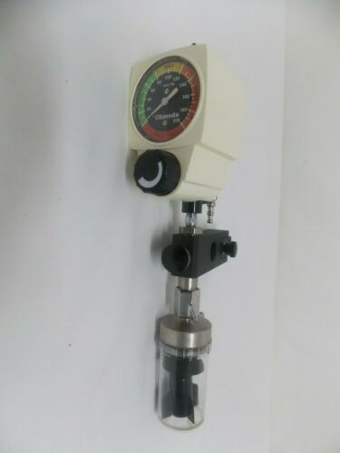 Ohmeda 200 Wall Vacuum Regulator w/Rail Mount & Water Trap