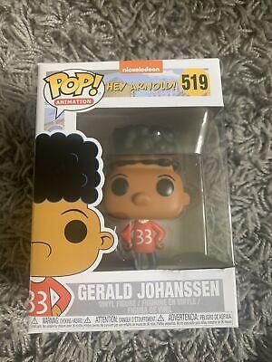 New Funko Pop Vinyl Collectible Figure #519 Hey Arnold! Gerald Johanssen