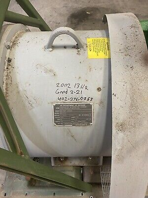 Mep 816b 816 B Generator End 60 Kw 400hz Marathon Electric