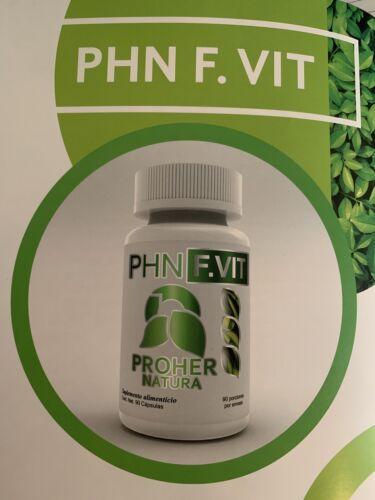 PROHER NATURA F VIT 100%NATURALES QUEMADOR DE GRASA!! Natural Weight Loss Pills
