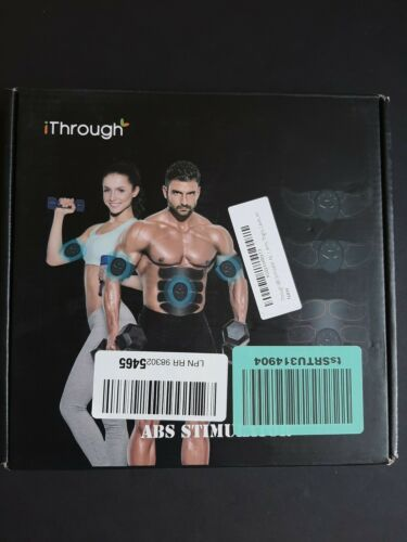 iThrough ABS Stimulator Abdominal Muscle Trainer EMS Muscle