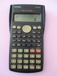 CASIO FX-82MS S-V.P.A.M Scientific Calculator in Ex Condition