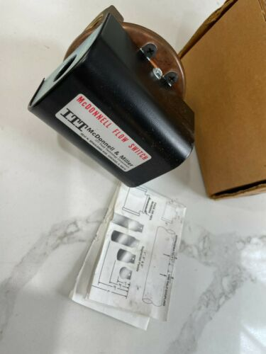 "NEW MCDONNELL MILLER FS6 3/4"" FLOW SWITCH SIZE See photos ~ Bronze NOS"