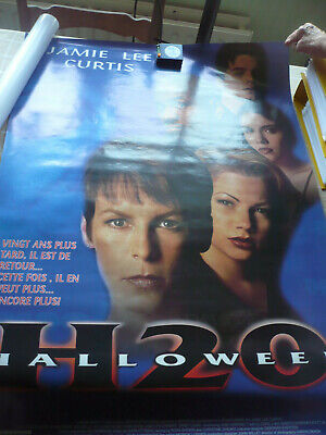 MOVIE POSTER H20 HALLOWEEN Hartnett Curtis Rolled used good condition oop rare