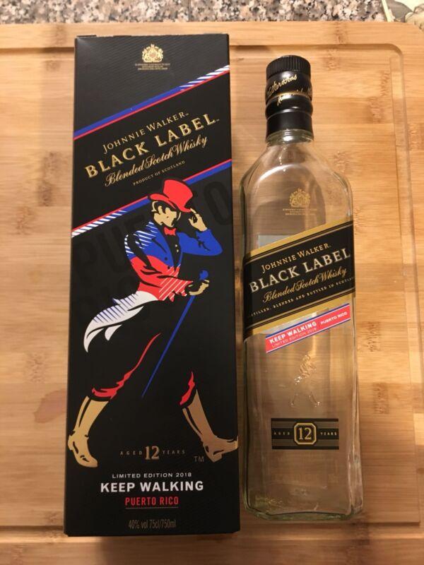Johnnie Walker Black Label Puerto Rico Edition