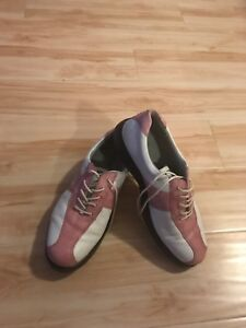 Ecco women golf shoes in pink size 10