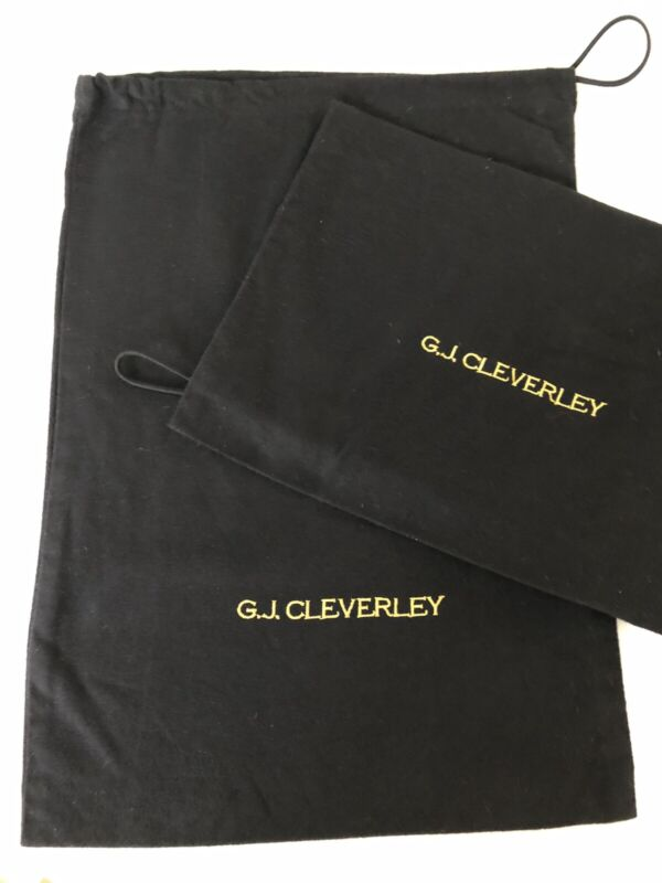 George Cleverly Shoe Dust Bags for Bespoke Boots - XLarge