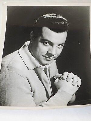 "Official Mario Lanza  (Singer Film Star) Fan Club 1970's PHOTOGRAPH 8"" x 10"""