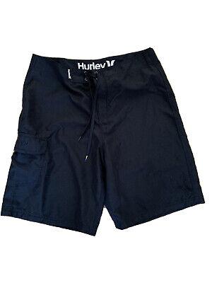 Black Hurley Shorts W32