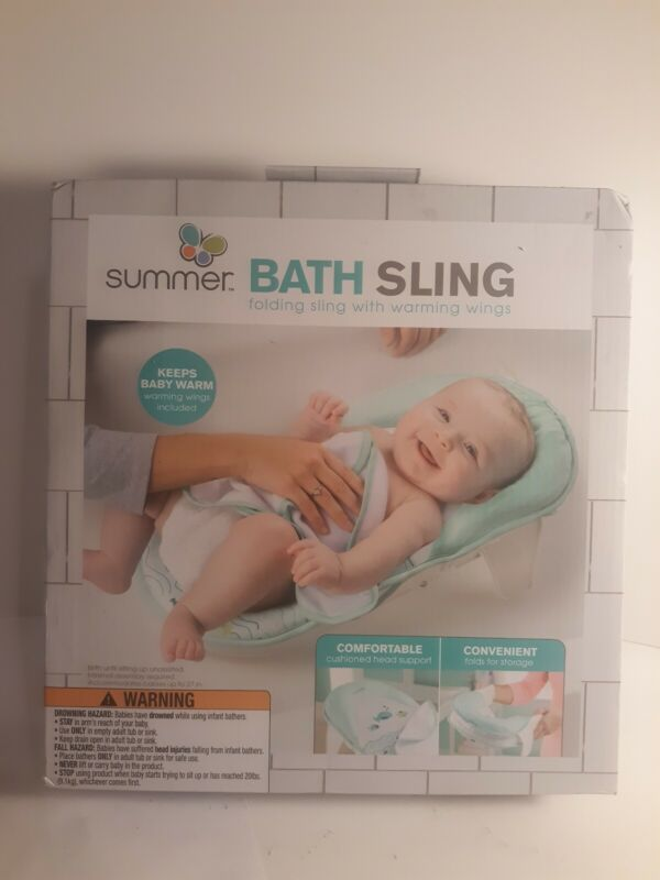 NEW Summer Infant Bath Sling with Warming Wings free Shipping