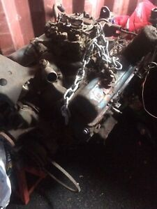 Chevy 350 motor and tranny