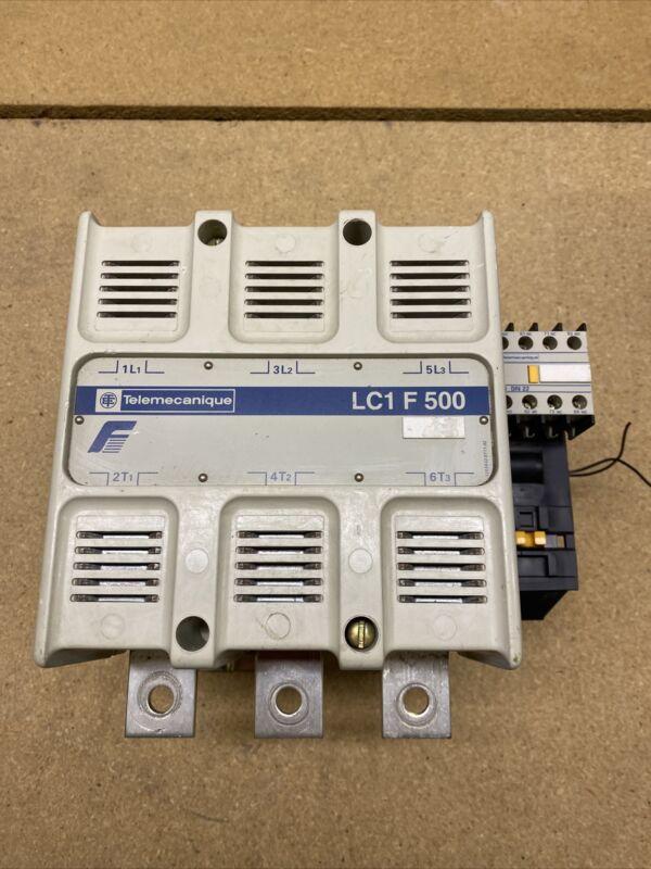 LC1F500 Telemecanique Contactor LC1 F 500   LX1FK110 Coil W33